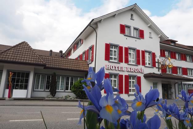 Lustenbergers Restaurant Krone in Aarburg.