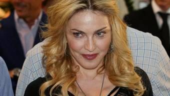 Madonna will sich gegen Gewalt engagieren (Archiv)