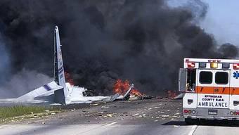 Absturz eines Kleinflugzeugs in Georgia