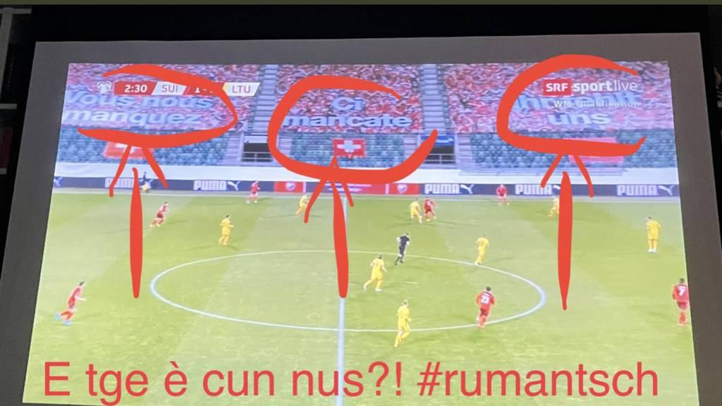 Schweizer Fussballverband entschuldigt sich bei Rätoromanen