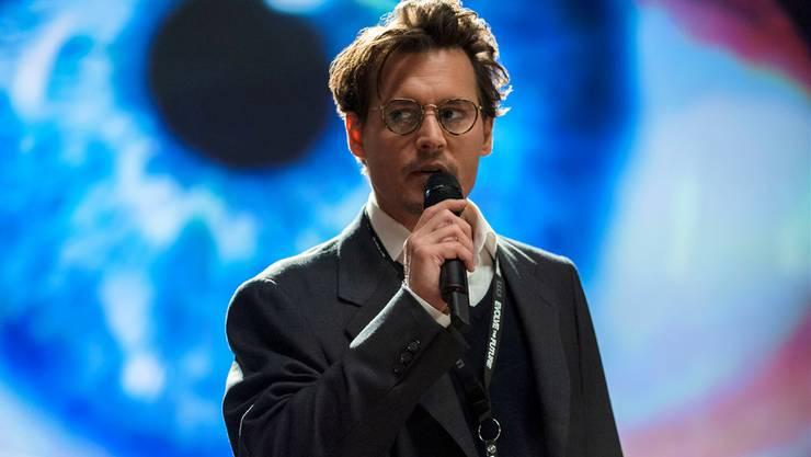 Dr. Will Caster (Johnny Depp) spielt Gott – ganz in der Tradition vieler anderer «Mad Scientists».Warner Bros/AP/KEY