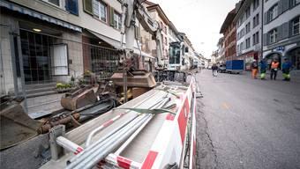 Im Dezember soll die frisch sanierte Rathausstrase in neuem Glanz erstrahlen. Im darauffolgenden Juni wird es in Liestal dann ein grosses Fest geben.