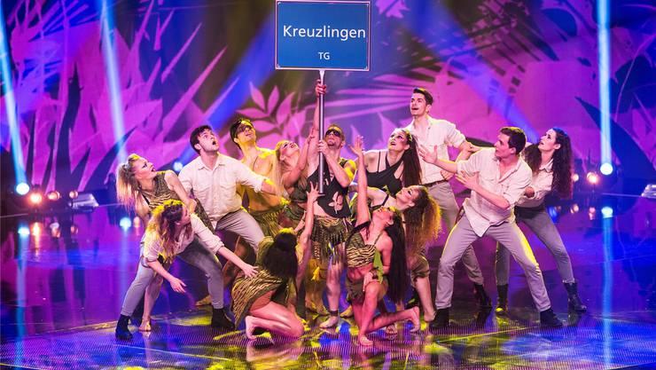 Die Tanzgruppe «Focus» hat sich für das Finale von «Die grössten Schweizer Talente» qualifiziert. Mirco Rederlechner/Srf