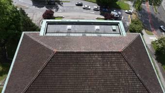 Dach der Solothurner Stadtkirche wird saniert