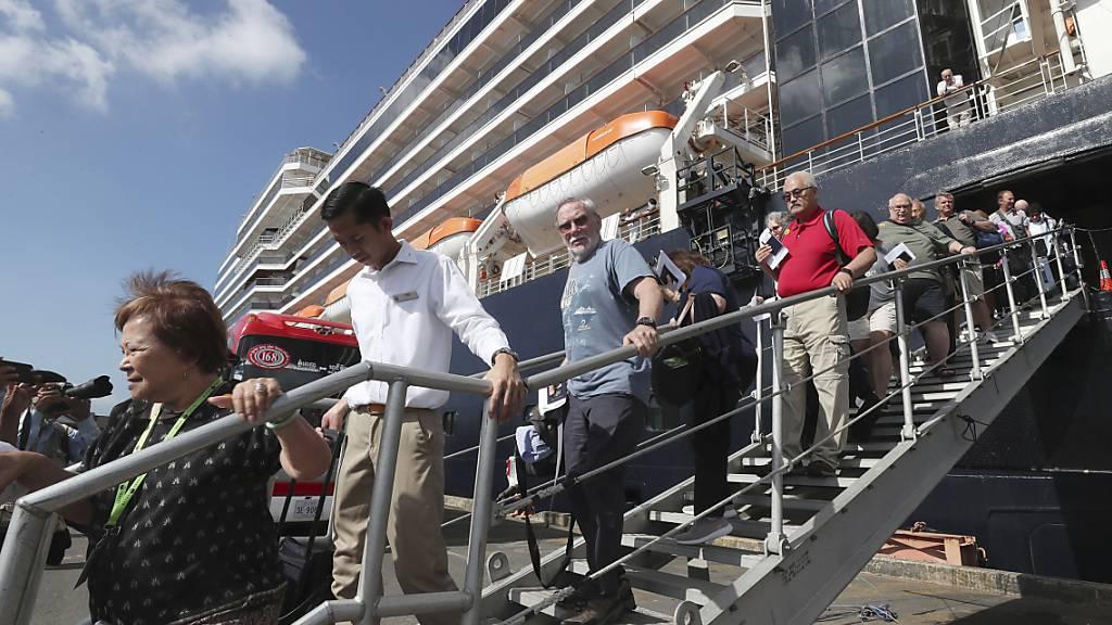 BAG: Quarantäne für Westerdam-Passagiere aufgehoben