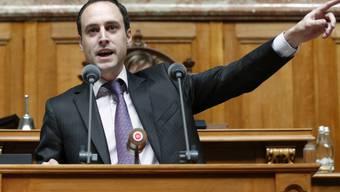 Der Berner FDP-Nationalrat Christian Wasserfallen will das Präsidium des Nuklearforums nicht.