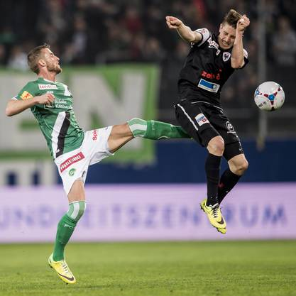 Stephan Andrist gegen Ermir Lenjani