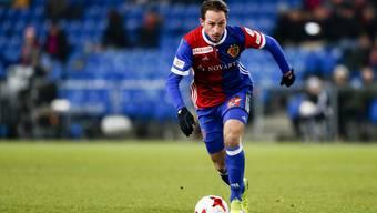 Kaum ist er wieder fit, spielt Luca Zuffi wieder. Obschon mit Fabian Frei ein Nati-Spieler zum FCB zurückkehrte.
