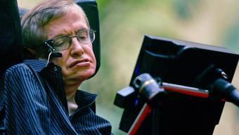 Der britische Astrophysiker Stephen Hawking wird 70 (Archiv)