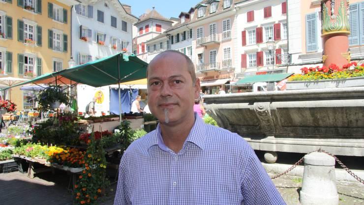 Chris van den Broeke, neuer OK-Chef des Märetfeschts, sieht dem Grossanlass optimistisch entgegen.