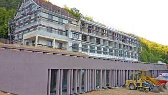 Eine knifflige Kombination von Neubau und Umbau