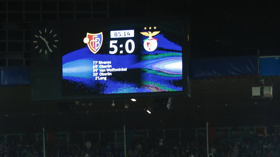 FC Basel Joggeli St. Jakob