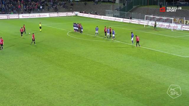 Highlight FC Aarau - FC Schaffhausen: 62. Varol Tasar 2:1
