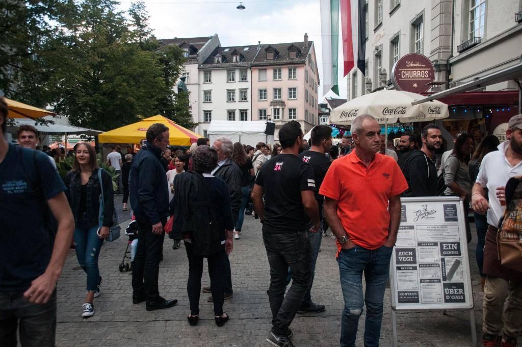 Der Samstagabend am St.Galler Fest (© FM1Today/Martin Schlegel)