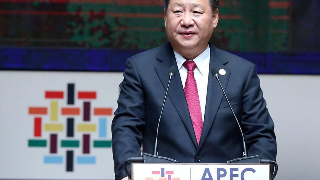 Nicht nur Chinas Präsident Xi befürchtet eine Verlangsamung des Welthandels nach der Wahl Donald Trumps. Er fordert deshalb in Lima «starke Akzente» der pazifischen Anrainerstaaten.