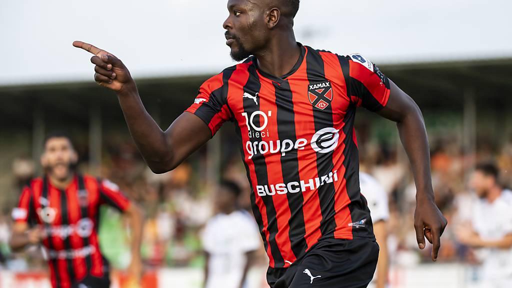 Louis Mafouta avanciert gegen Wil mit zwei Vorlagen und einem Tor zum Mann des Spiels