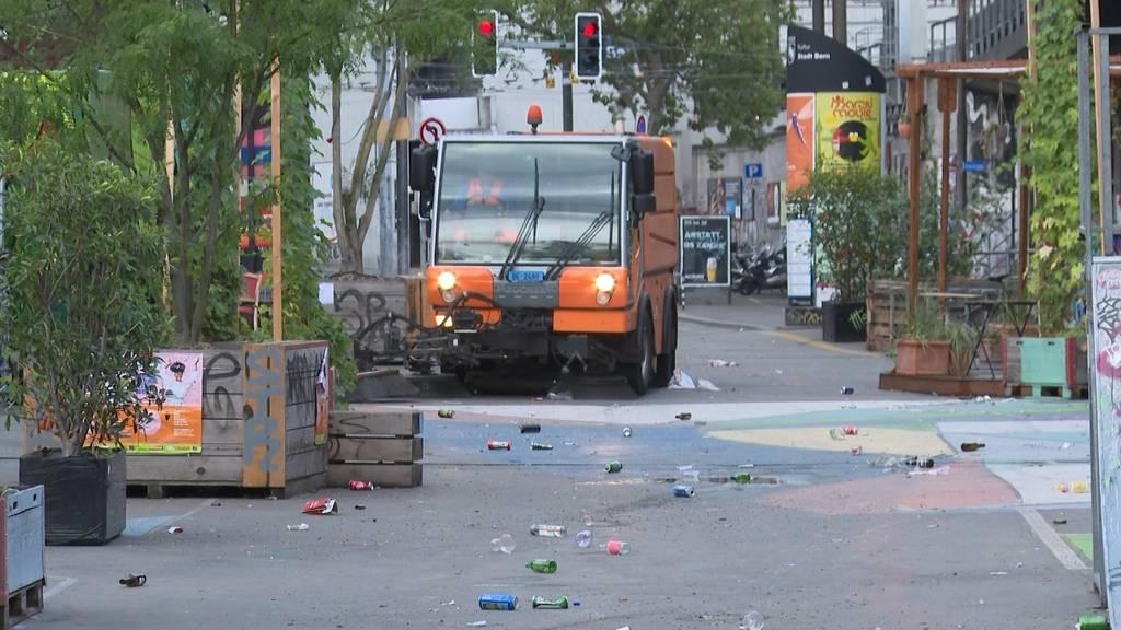 Saubere Innenstadt: Unterwegs mit dem Berner Tiefbauamt