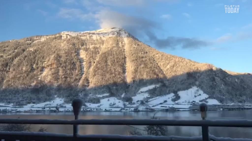 Wunderschöne Wetterkapriolen an der «Königin der Berge»