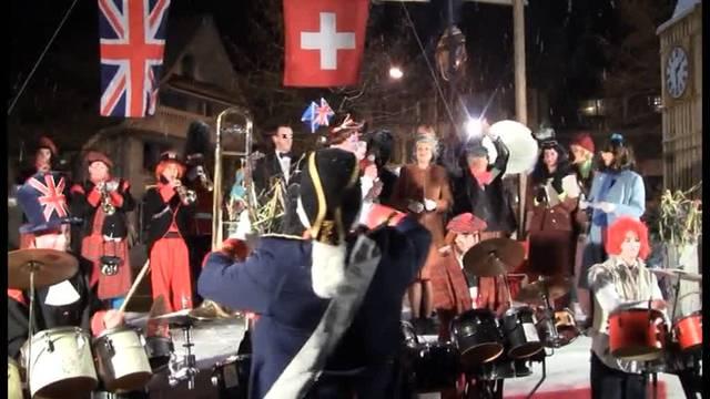 Very British: Fasnachtseröffnung Villmergen