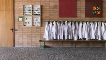 Die Schule in Suhr: Hier erkrankte ein Kind an Tuberkulose.