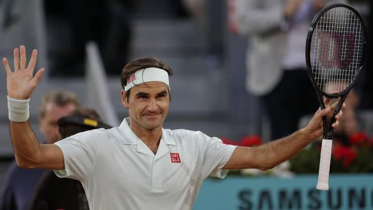 Roger Federer siegte gegen den Franzosen Richard Gasquet mit 6:2, 6:3.