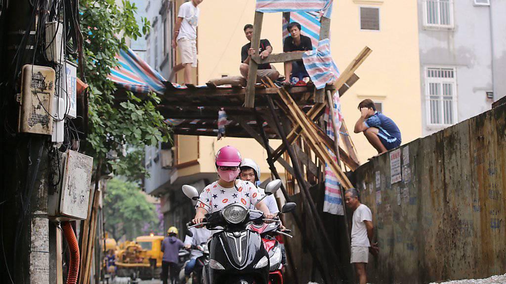 Hochwasser in Vietnam: Dieses Mal wurde die Überflutung in zwei Dörfern im Süden des Landes künstlich herbeigeführt - durch drei Betrunkene. (Symbolbild)