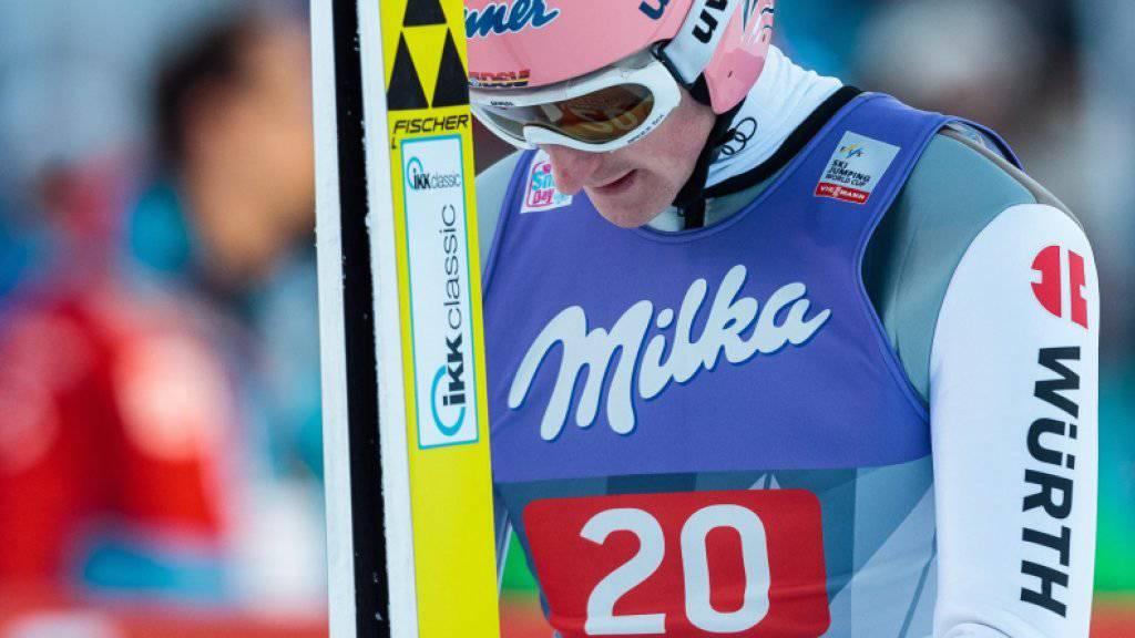Severin Freund muss seine Vierschanzen-Tournee vorzeitig abbrechen