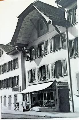 Die Papeterie Geisseler gab es bis 1972.