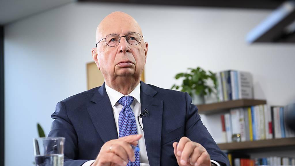 WEF-Gründer Schwab will Wirtschaft und Gesellschaft neu ausrichten