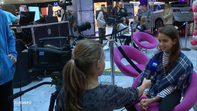 TeleZüri-Kids on air & Promi-Eröffnung Auto Zürich