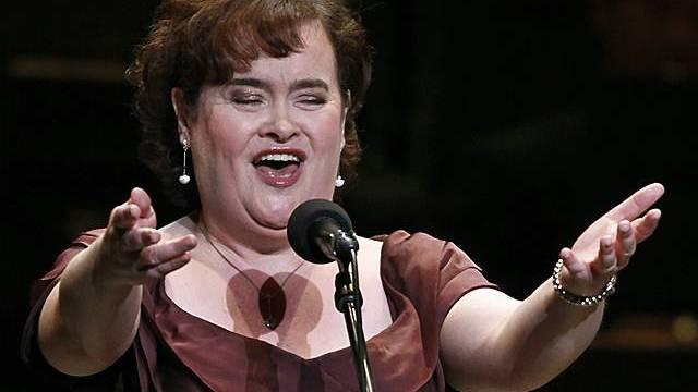 Susan Boyle reitet weiter auf der Erfolgswelle