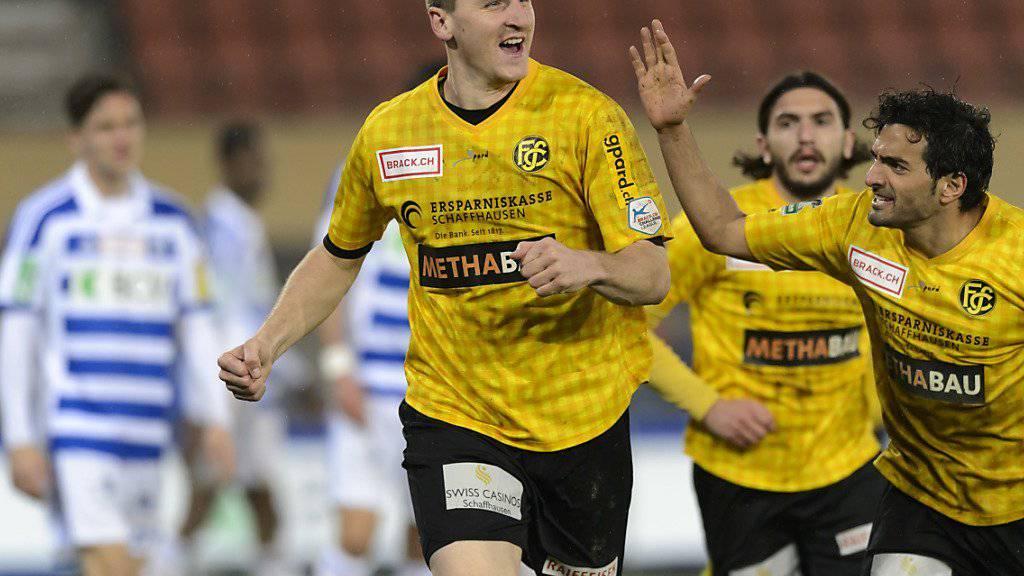 Challenge-League-Klub Schaffhausen muss wohl bis Ende Saison auf Igor Tadic (29) verzichten. Der Stürmer ist mit neun Treffern diese Saison bester Torschütze der Schaffhauser