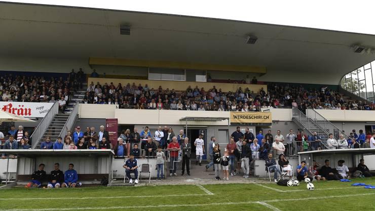 Das Fussballstadion Altenburg wird zur schwächeren Schutzkategorie gezählt, damit es abgerissen werden könnte.