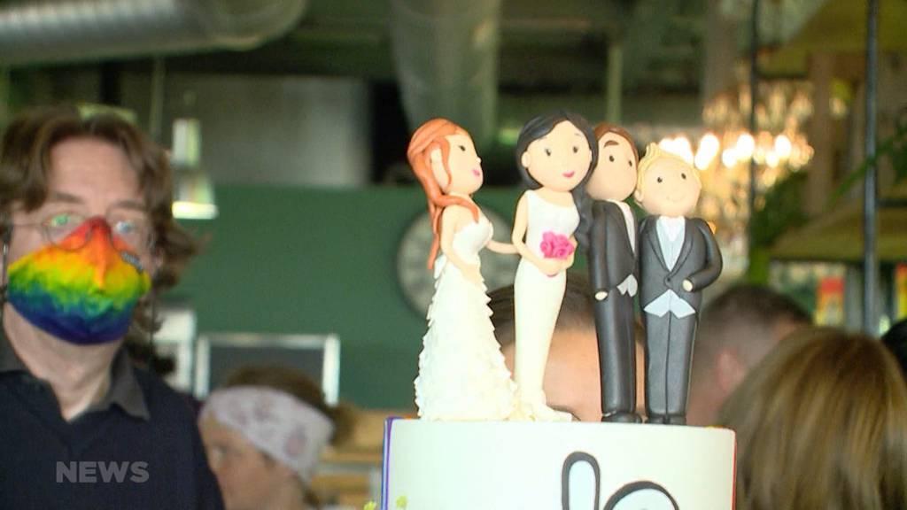Klares Ja und klares Nein: «Ehe für alle» angenommen, 99-Prozent-Initiative abgelehnt