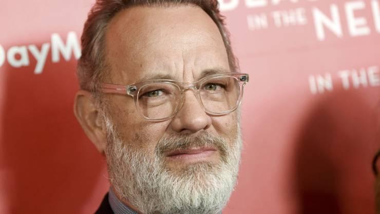 """Allerweltsgesicht oder liegt es am Bart? US-Schauspieler Tom Hanks wurde in der Quiz-Show """"Jeopardy"""" von drei Kandidaten nicht erkannt."""