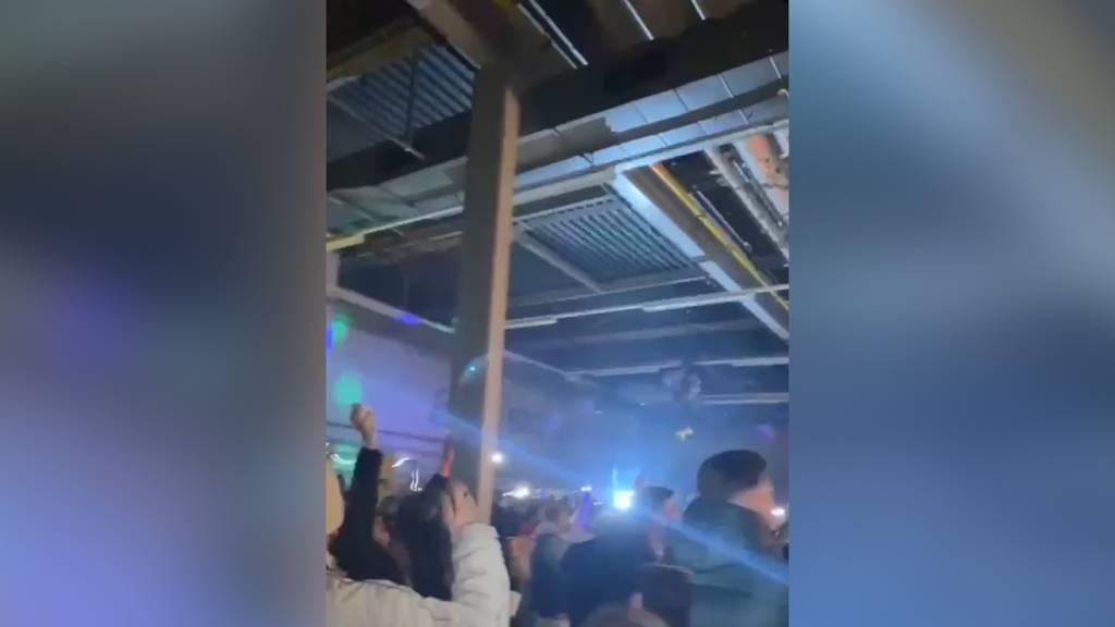 Illegale Silvesterparty: So ausgelassen wurde in Volketswil gefeiert