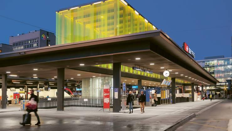 Ausbau Bahnhof Oerlikon, Zürich