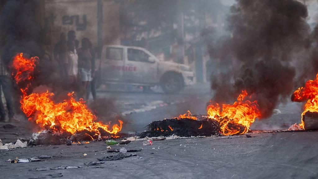 Heftige Proteste gegen die Regierung von Staatschef Moïse