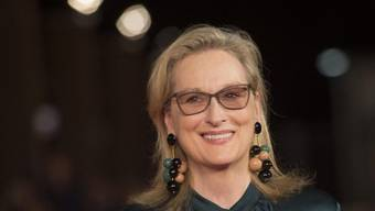 Gefragt wie nie: US-Schauspielerin Meryl Streep ist froh, dass es für Schauspielerinnen über 60 heute so viele Projekte gibt. (Keystone)