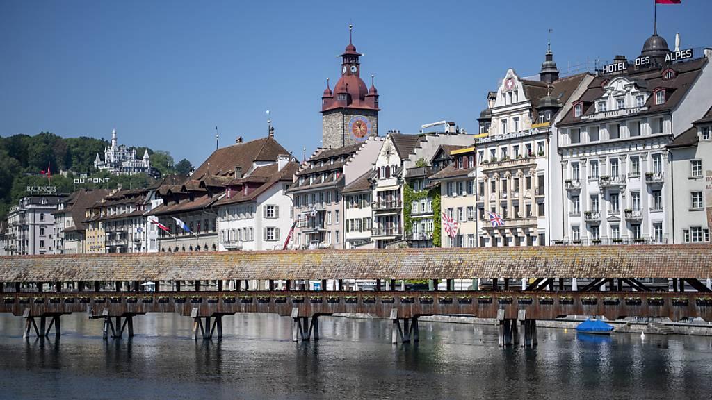 In der Stadt Luzern sollen sich Vereine und Organisationen digital stärker austauschen. (Archivaufnahme)