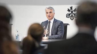 UBS-Chef Sergio Ermotti: Das Ergebnis wird sich wohl auch auf die Boni des Managements niederschlagen.