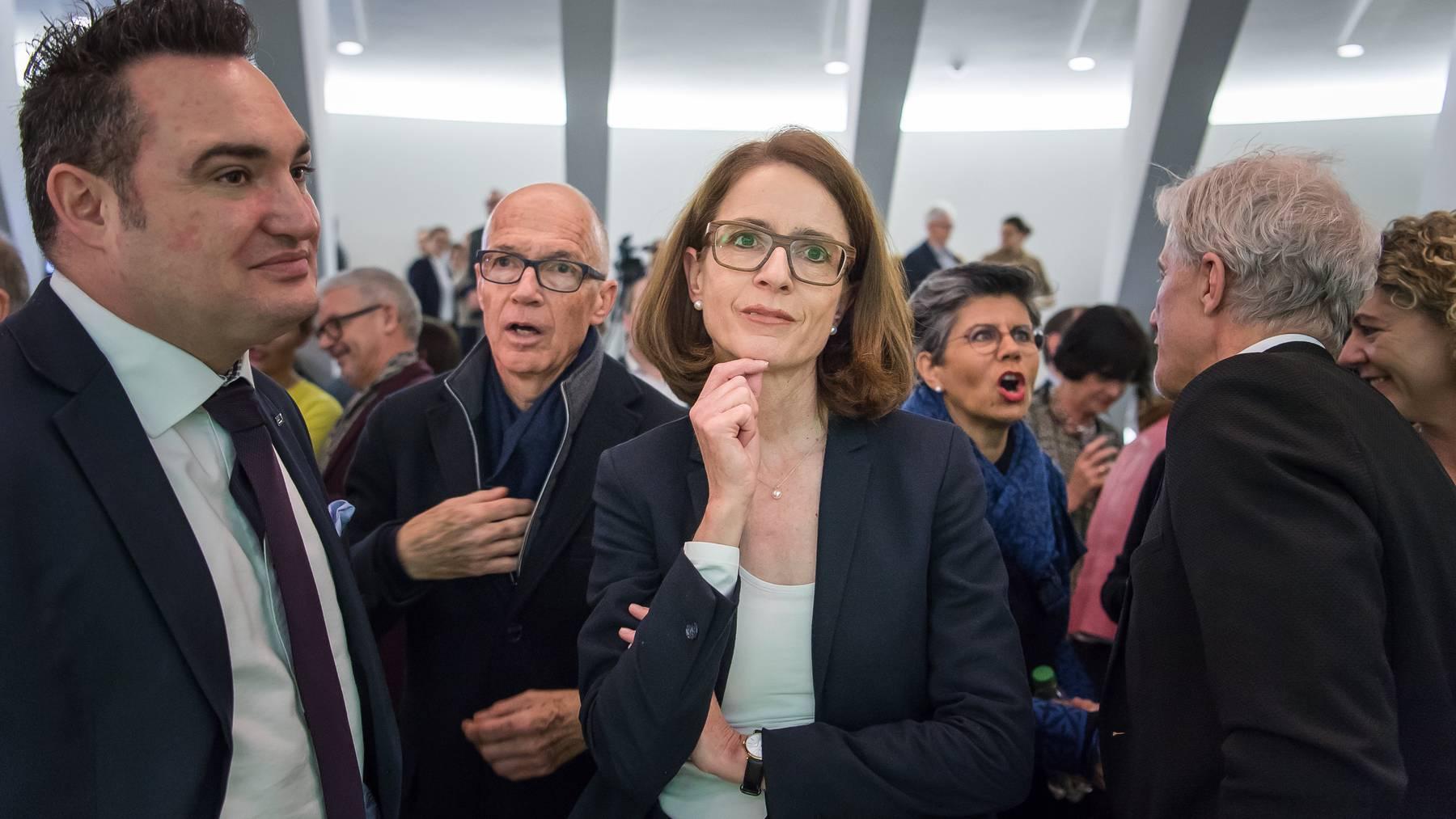 Susanne Vincenz-Stauffacher will in den Ständerat.