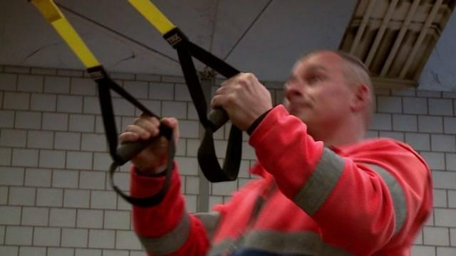 Workout für Kehrichtmänner