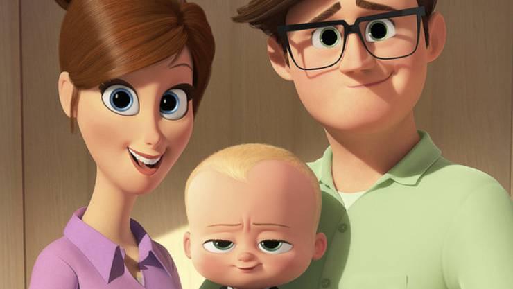 """Der Animationsfilm """"Boss Baby"""" führte die US-Kinocharts am Wochenende vom 7. bis 9. April 2017 weiterhin an."""