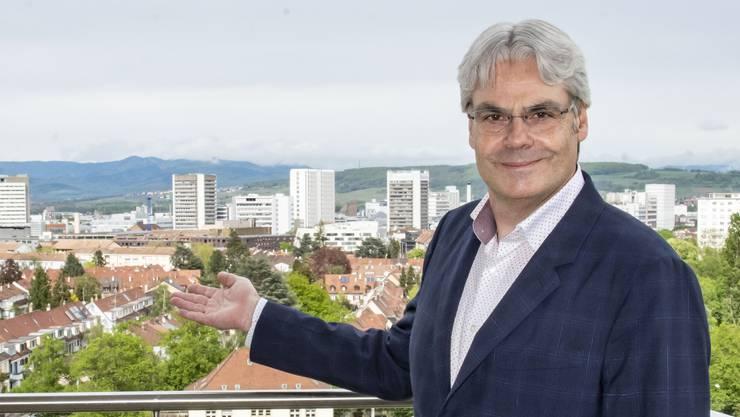 Basler Kantonsentwickler Lukas Ott: Wohnungsbau ist für ihn wichtig.
