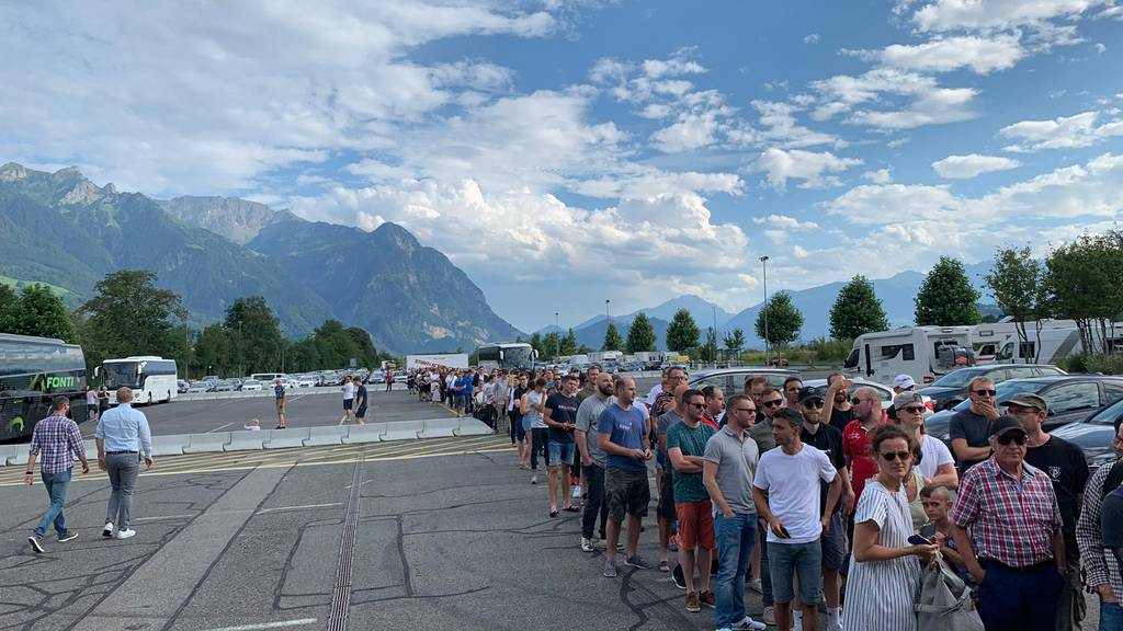 Enormer Andrang für Vaduz-Tickets
