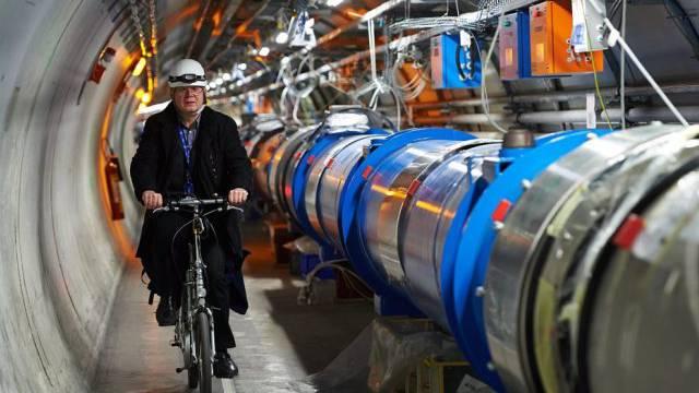 Blick auf den Large Hadron Collider (LHC) am Cern (Symbolbild)