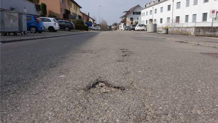 Die Sanierung der Unterdorfstrasse beginnt noch 2015 und dauert rund drei Jahre. kob