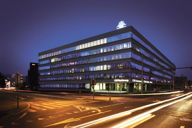 Hauptsitz der CSS in Luzern: Der Krankenversicherer investiert neuerdings in Jungunternehmen.