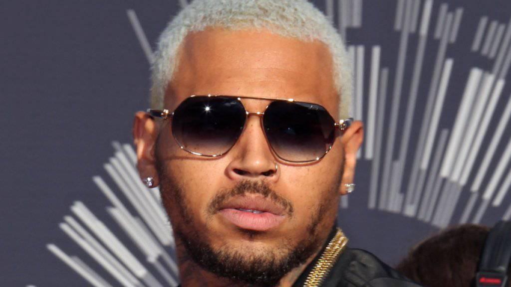 Rapper Chris Brown steht unter Vergewaltigungsverdacht. (Archivbild)